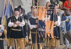 Φορείς σημαιών Στοκ Φωτογραφίες