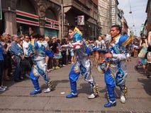 συμμετέχων καρναβαλιού Κοπεγχάγη του 2012 Στοκ φωτογραφία με δικαίωμα ελεύθερης χρήσης