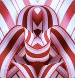 συμμετρία κορδελλών στοκ εικόνα με δικαίωμα ελεύθερης χρήσης