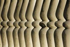 Συμμετρικά κάγγελα κιγκλιδωμάτων ασβεστοκονιάματος Στοκ Εικόνα