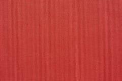 Συμμετρική σύσταση του υφαντικού υφάσματος του ερυθρού χρώματος Στοκ Εικόνες
