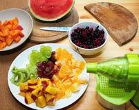 Συμπίεση φρούτων Στοκ Φωτογραφίες