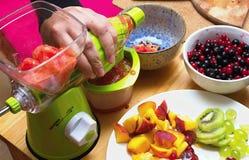Συμπίεση φρούτων Στοκ Εικόνες