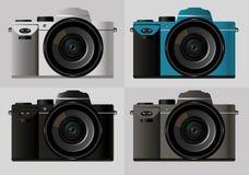 Συμπαγής κάμερα, φωτογραφία, μεγάλος φακός Στοκ Εικόνες