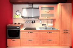συμπαγής κουζίνα Στοκ φωτογραφία με δικαίωμα ελεύθερης χρήσης
