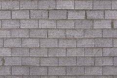 Συμπαγής τοίχος και γκρίζα τούβλα Στοκ Φωτογραφία