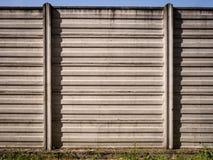 Συμπαγής τοίχος του βιομηχανικού υποβάθρου Στοκ εικόνα με δικαίωμα ελεύθερης χρήσης