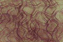 Συμπαγής τοίχος ως υπόβαθρο με τις γραμμές καμπυλών Εκλεκτής ποιότητας αναδρομικό styl Στοκ Φωτογραφία