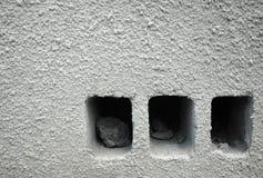 συμπαγής τοίχος Στοκ Εικόνες