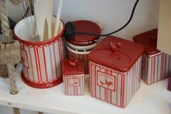 συμπαθητικά εργαλεία υποστήριξης κουζινών μορφής παπιών Στοκ Φωτογραφία