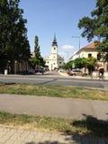 συμπαθητική άποψη στην Ουγγαρία Στοκ Εικόνες