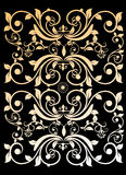 συμπαθητική αναδρομική εκλεκτής ποιότητας ταπετσαρία διακοσμήσεων Στοκ φωτογραφία με δικαίωμα ελεύθερης χρήσης
