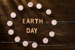 συμπαθητική αποταμίευση ενεργειακής απεικόνισης μαλακή Έννοια με την ώρα της γης, μια ώρα χωρίς Στοκ φωτογραφία με δικαίωμα ελεύθερης χρήσης