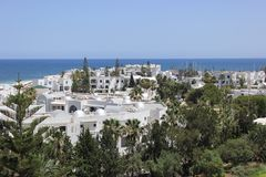 συμπαθητική ηλιόλουστη όψη της Τυνησίας haouaria EL ημέρας Στοκ Εικόνες
