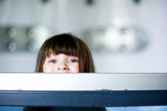 συμπαθητικό μικρό παιδί κο& Στοκ εικόνα με δικαίωμα ελεύθερης χρήσης