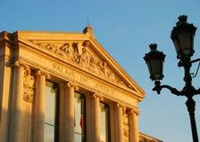 συμπαθητικό παλάτι δικαιοσύνης Στοκ Φωτογραφίες