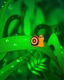 συμπαθητικό σαλιγκάρι Στοκ εικόνα με δικαίωμα ελεύθερης χρήσης