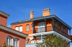 συμπαθητικό σπίτι σε Ανδαλουσία Στοκ φωτογραφία με δικαίωμα ελεύθερης χρήσης
