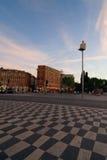 συμπαθητικό τετράγωνο plaza massena  Στοκ φωτογραφία με δικαίωμα ελεύθερης χρήσης