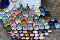συμπαθητικό maroccan πιάτο στοκ εικόνα