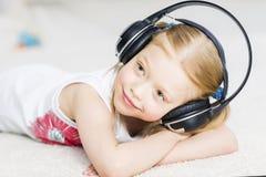 Συμπαθώ ακούω μουσική Στοκ εικόνες με δικαίωμα ελεύθερης χρήσης