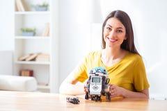 Συμπαθώ αυτό το ρομπότ πάρα πολύ Στοκ Εικόνα