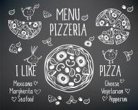 Συμπαθώ την πίτσα Στοκ φωτογραφία με δικαίωμα ελεύθερης χρήσης