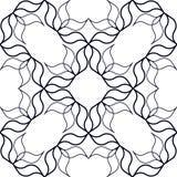 Συμπεπλεγμένο γραμμικό σχέδιο Στοκ Εικόνα