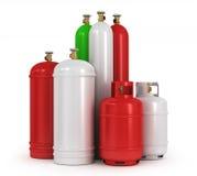 συμπιεσμένα αέρια κυλίνδρ απεικόνιση αποθεμάτων