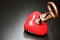 Συμπιεσμένη καρδιά Στοκ φωτογραφίες με δικαίωμα ελεύθερης χρήσης