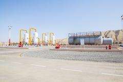 Συμπιεστής refinator πετρελαίου και φυσικού αερίου Στοκ εικόνα με δικαίωμα ελεύθερης χρήσης