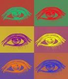 συμπληρωματικά μάτια χρωμάτ απεικόνιση αποθεμάτων