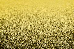 Συμπυκνωμένο νερό στο γυαλί Στοκ Φωτογραφίες
