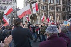συμπόνοια απεργίας κυβερνητικής ουγγρική στιλβωτικής ουσίας Στοκ φωτογραφίες με δικαίωμα ελεύθερης χρήσης