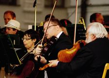 Συμφωνική ορχήστρα στη 750η επέτειο Στοκ φωτογραφίες με δικαίωμα ελεύθερης χρήσης