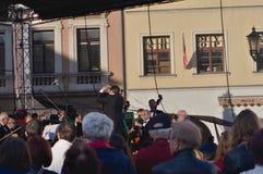 Συμφωνική ορχήστρα στη 750η επέτειο Στοκ Εικόνες