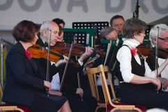 Συμφωνική ορχήστρα στη 750η επέτειο Στοκ φωτογραφία με δικαίωμα ελεύθερης χρήσης