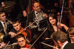 Συμφωνική ορχήστρα στοκ εικόνα με δικαίωμα ελεύθερης χρήσης