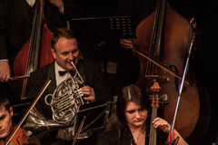Συμφωνική ορχήστρα στοκ εικόνες με δικαίωμα ελεύθερης χρήσης
