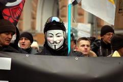 Συνάθροιση για τις δίκαιες εκλογές στη Ρωσία Στοκ φωτογραφία με δικαίωμα ελεύθερης χρήσης