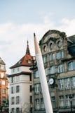 Συνάθροιση μαζικής ενότητας που διοργανώνεται στο Στρασβούργο μετά από τον πρόσφατο τρομοκράτη α Στοκ Φωτογραφία