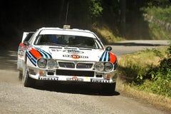 συνάθροιση της Lancia 037 αυτοκινήτων Στοκ Εικόνα