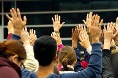 Συνάθροιση του Michael Brown Στοκ φωτογραφία με δικαίωμα ελεύθερης χρήσης
