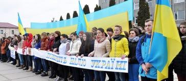 Συνάθροιση υπέρ της ελπίδας Savchenko Στοκ εικόνα με δικαίωμα ελεύθερης χρήσης
