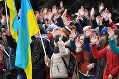 Συνάθροιση υπέρ της ελπίδας Savchenko_6 Στοκ Εικόνες