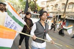 Συνάθροιση Kolkata. Στοκ εικόνες με δικαίωμα ελεύθερης χρήσης