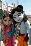 Συνάθροιση Krishna λαγών. στοκ φωτογραφία