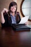 Συνέντευξη εργασίας στοκ φωτογραφία με δικαίωμα ελεύθερης χρήσης
