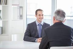Συνέντευξη εργασίας στοκ εικόνα με δικαίωμα ελεύθερης χρήσης