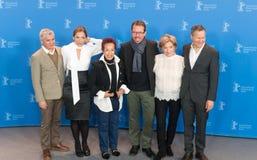 Συνέντευξη τύπου της ταινίας ` Las Herederas ` σε 68ο Berlinale Στοκ Εικόνες